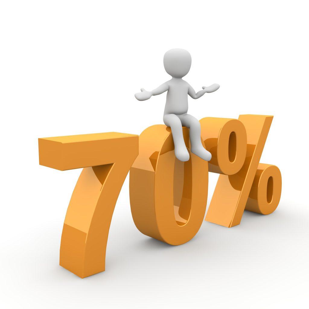 el desafío del 70%
